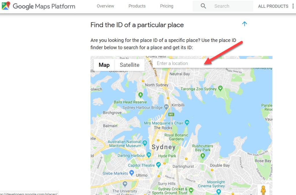 Google Placeid